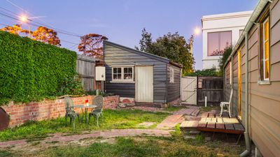 For some people it is possibly too authentic, in that the only toilet is in the shed out the back. (Supplied, Pride Real Estate)