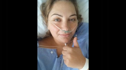 Joanna had her operation after she turned 30.