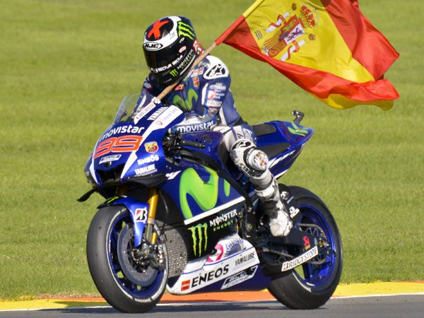 Spain's Jorge Lorenzo. (AFP)