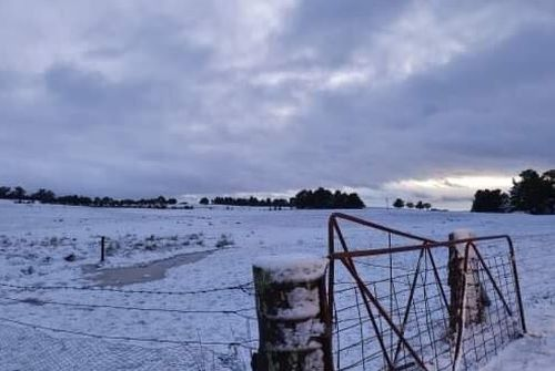 Snow has been recorded all acorss Australia's east coast. Picture: Kath Campbell.