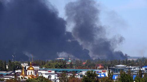 Ukraine truce under threat as heavy fighting erupts