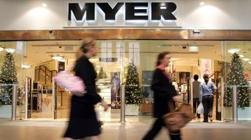 Myer dumped from ASX200