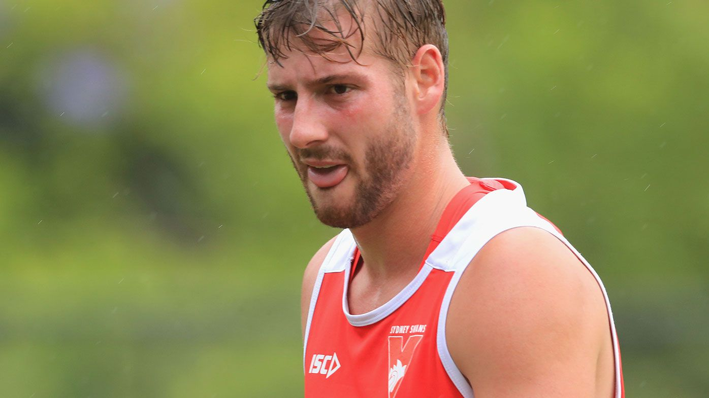 Sydney Swans defender Alex Johnson
