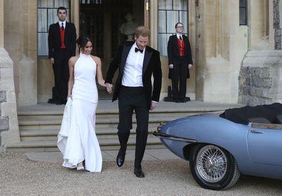 Royal wedding reception, May