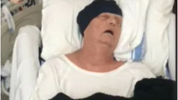 A terminally ill Perth grandmother is stranded in Sydney due to an insurance bungle.