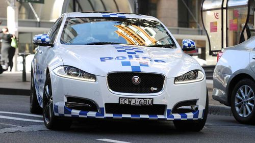 Stock image of NSW police car.