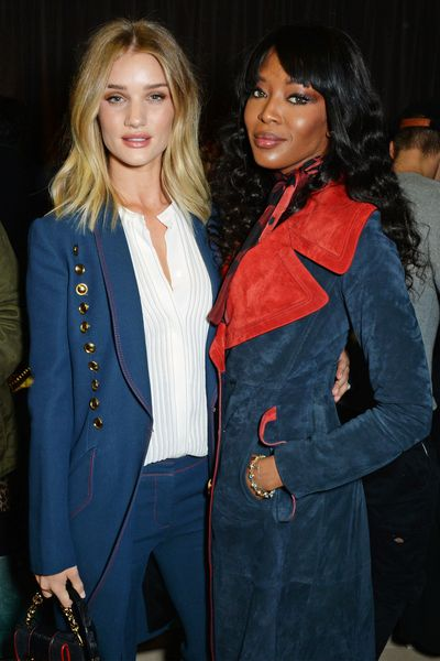 Rosie Huntington-Whiteley and Naomi Campbell