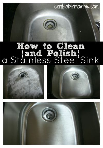 Clean, polish and shine your sink