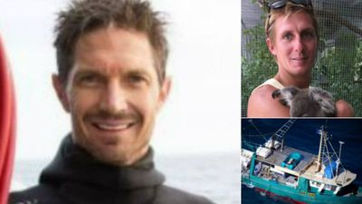 Families of missing trawler crew speak out as search continues