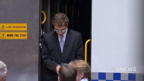 Daniel Kelsall is accused of murdering Huxley. (9NEWS)