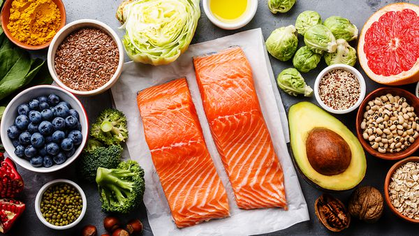 Salmon and health foods