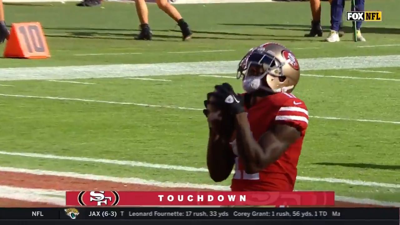 Goodwin scores emotional touchdown