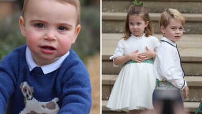Prince Louis Prince George Princess Charlotte