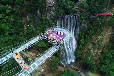 <strong>Gulongxia scenic bridge, China</strong>
