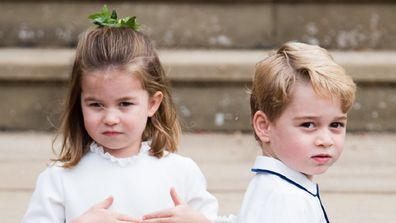 George, Charlotte and Louis have each created something special to mark the occasion.