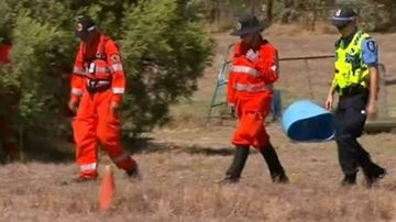 Search for missing Western Australian bushwalker allegedly bitten by a snake.