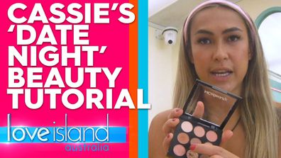 Cassie's 'date night' beauty tutorial