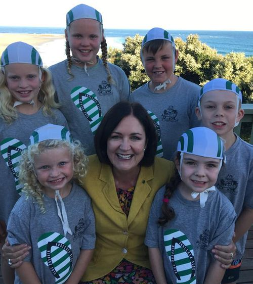 The proposed name of Cox comes after swimming icon May Cox who pioneered a learn to swim program in Victoria. Picture: Facebook/Sarah Henderson MP.