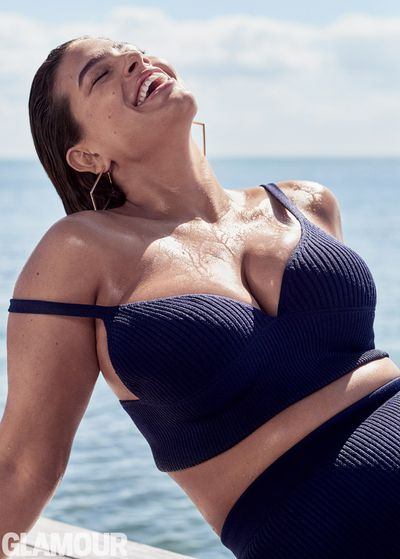 Ashley Graham for <em>Glamour</em>.