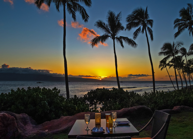 Hyatt Regency Maui sunset