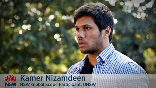 The accused is a staff member at the University of NSW.