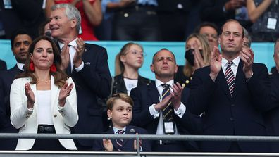 Prince George attended the FIFA2020 final with parents Prince William and Kate Middleton at Wembley Stadium.