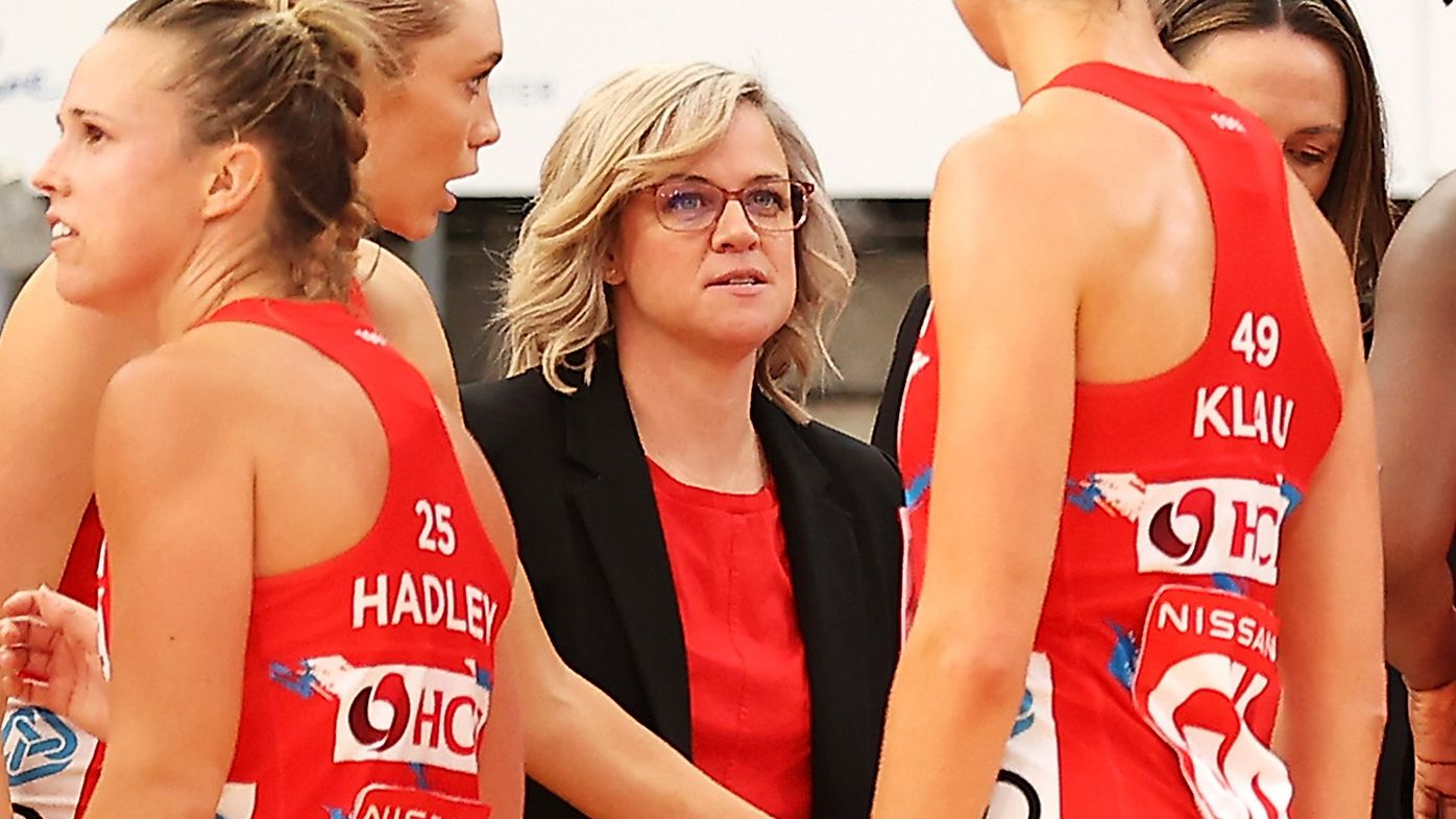 'Netballers are tough': NSW Swifts coach Briony Akle fires shot at Ricky Stuart after win