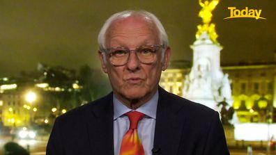 Former palace Press Secretary Dickie Arbiter