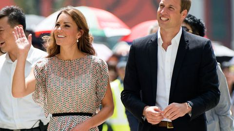 Baby talk: Prince William wants two children with Duchess Kate