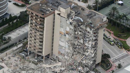 Crollo di un edificio, Miami Florida