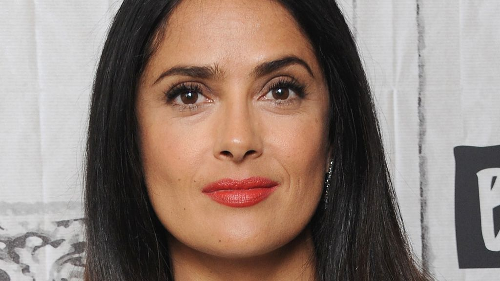 Salma Hayek only does it once a day