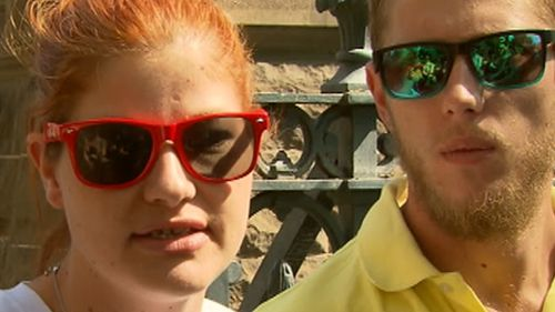 Zayden's mother Casey Veal spoke outside court about the fight for justice three years since her son's murder. (9NEWS)