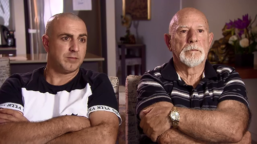 Joe and Frank Palermo used to run Menniti Seafood at Tweed Heads before becoming involved in a dispute with the landlord.