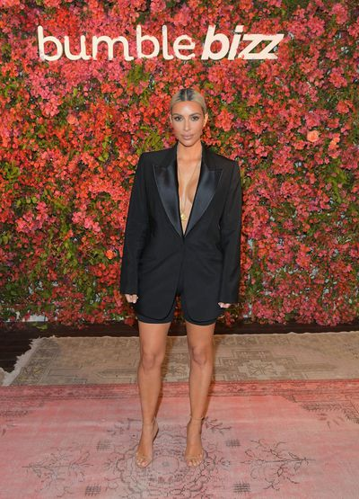 Kim Kardashian-West at the Bumble Bizz Los Angeles Launch in Los Angeles in November, 2017