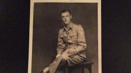 Ex-serviceman Tom Bryan. (Facebook/Tony Budgett)