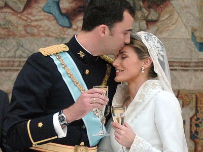 King Felipe of Spain and Queen Letizia, 2004