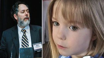 Dr Mark Perlin, a DNA expert, and Madeleine McCann, missing British girl.