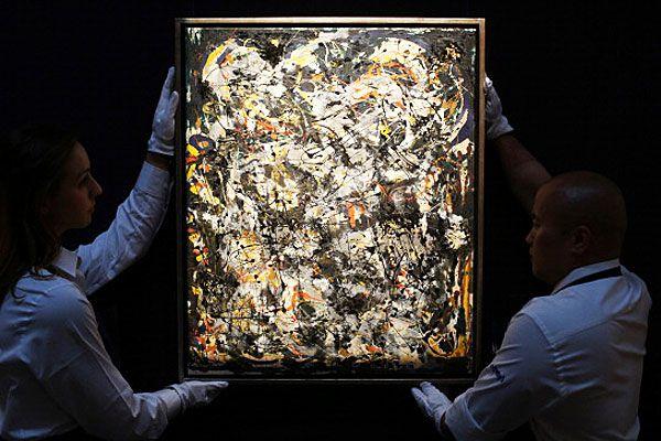 Jackson Pollock artwork