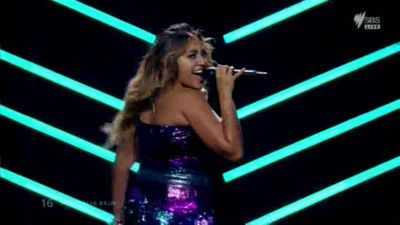 Jessica Mauboy's Eurovision costume makes 'worst dressed' list