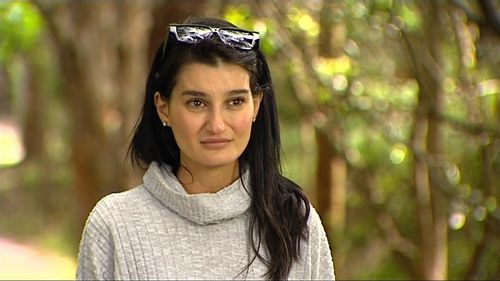 Ayda Celine has spoken about the alleged assault of her father at a nursing home in Sydney's northern beaches.