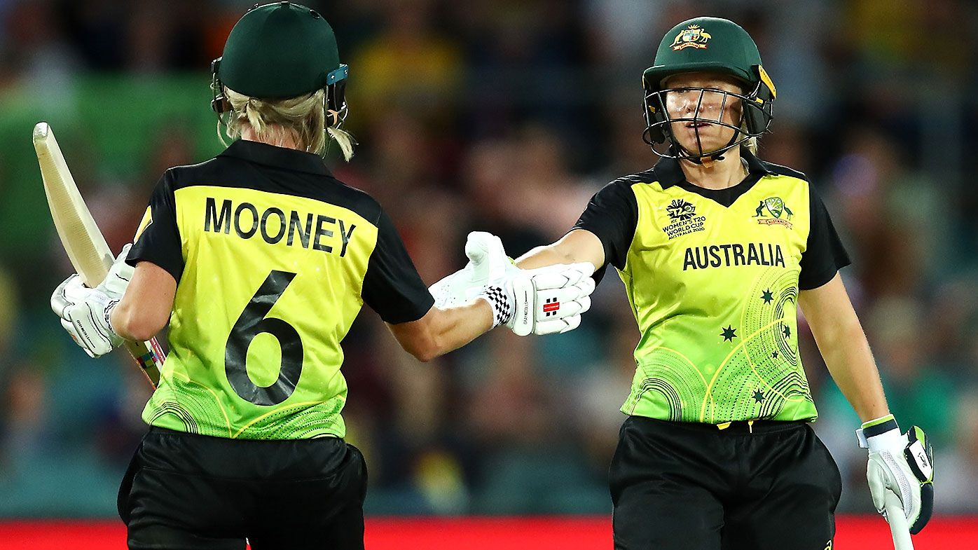 Australia shatter national T20 record with monster opening partnership against Bangladesh