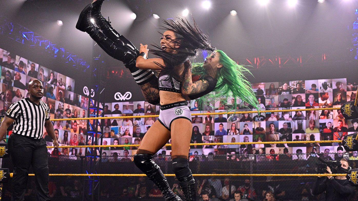 EXCLUSIVE: Aussie WWE NXT superstar Indi Hartwell's journey to wrestling stardom