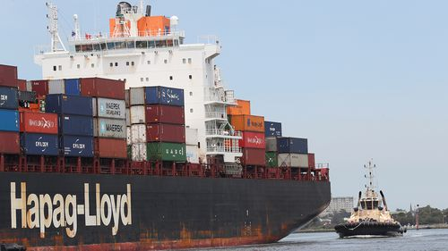 The absence of Australian-owned cargo ships is troubling the Labor Party.