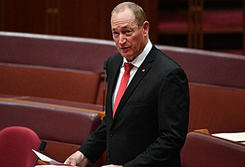 Katter Australia Party Senator Fraser Anning has refused to back down from his maiden speech to Parliament.