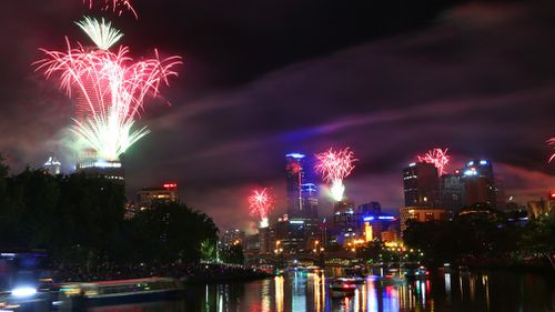 More than 500,000 people are expected to ring in 2018 in the CBD. (File image)