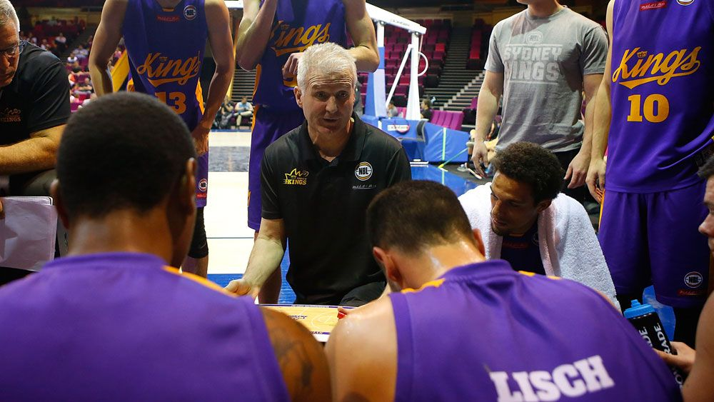 Sydney Kings coach Andrew Gaze said his team has its sights set on the title. (Getty Images)