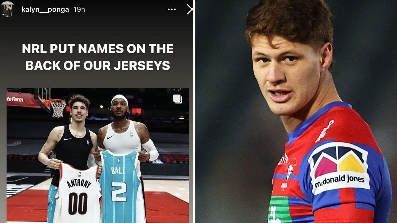 EXCLUSIVE: NRL captains back Ponga's call for personalised jerseys