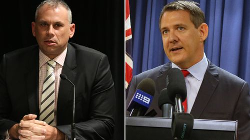 Adam Giles and Michael Gunner face off in NT leader's debate