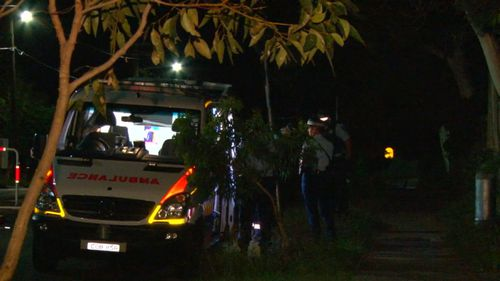 Paramedics responded after a man suffered severe burns at a party in Sydney. (9NEWS)