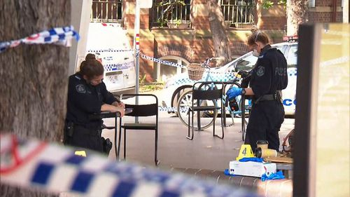 A 46-year-old woman has been arrested after a stabbing in Camperdown.